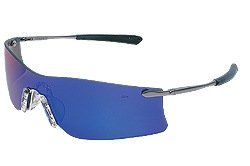 Crews T411G Rubicon Safety Glasses Metal Temple w/Emerald Mirror Lens (12 paar) by Crews