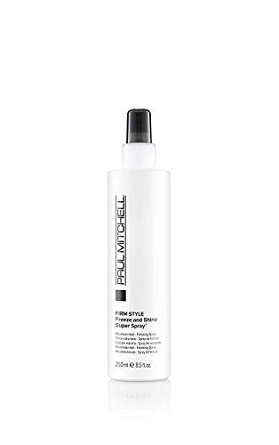 Paul Mitchell Freeze and Shine Super Spray  professionelles Haar-Spray,1er Pack (1 x 250 ml) -