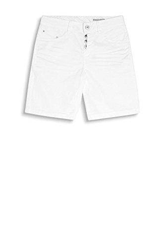 edc by Esprit 047cc1c001, Short Femme Blanc (White)