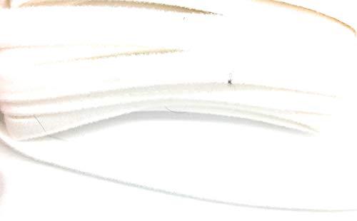 Bügel-BH mit Draht-Ärmeln für französische Trikot, 10 mm - 5 m weiß (Französisch Draht)