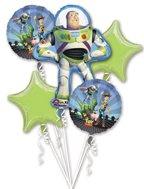 Mayflower Disney Toy Story Buzz Lightyear Mylar Birthday Balloon Bouquet