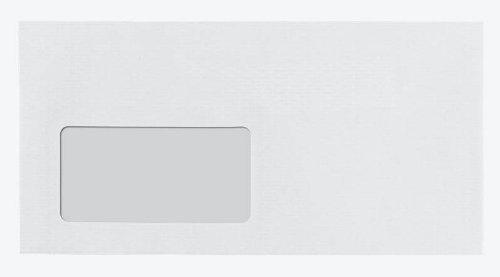 alto adesiva lunghezza lettere Hotmelt chiusura BONG Buste formato finestra con 250 bianco TopSTAR WED9HI2