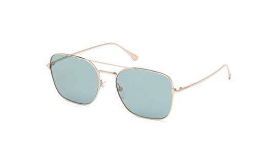Tom Ford Sonnenbrille Modell FT0680 Farbe 28X roségold glanz/blau verspiegelt