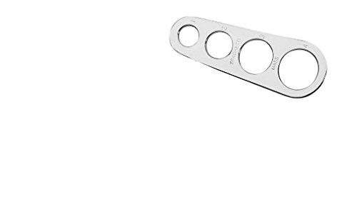 Housewares Edelstahl Spaghetti Messer (Spaghetti-maß)