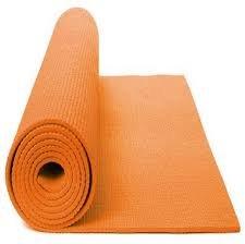FAP 6mm, antiscivolo, materassino per yoga esercizio fitness ginnastica e fisioterapia pilates, Orange
