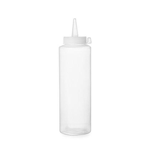 Hendi 557921 Spenderflasche für Saucen, 0,70 L, Polypropylen, Transparent