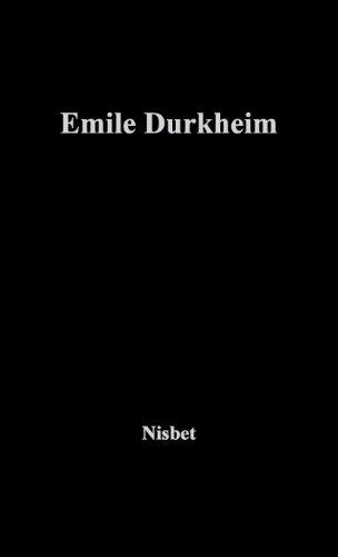 Emile Durkheim (Makers of Modern Social Science.)