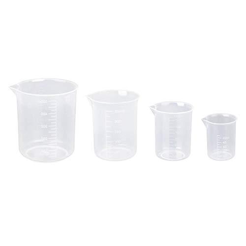 Vasos de plástico para medir de Nuolux