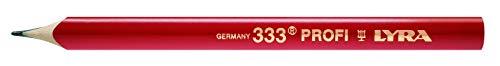 Zimmermannsbleistift 24 cm lang oval
