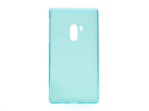 etuo Xiaomi Mi Mix - Hülle FLEXmat Case - Blau - Handyhülle Schutzhülle Etui Case Cover Tasche für Handy
