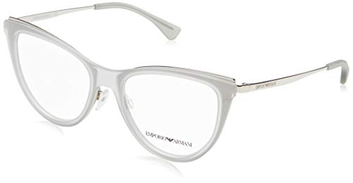 Ray-Ban Damen 0EA1074 Brillengestelle, Grau (Matte Transparente Grey), 53