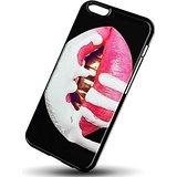 Kylie Jenner Hot Lips für iPhone 6/6S schwarz Fall