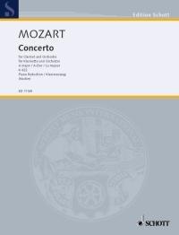 Klarinettenkonzert A-Dur: KV 622. Klarinette und Orchester. Klavierauszug mit Solostimme. (Edition Schott)