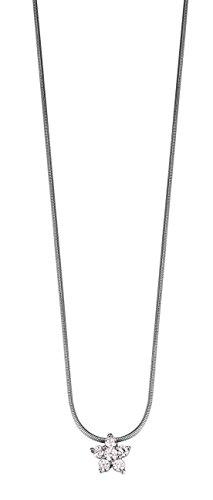 Esprit Damen Halskette 925 Sterling Silber rhodiniert Zirkonia