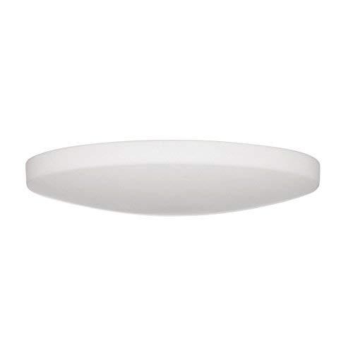 Lampenlux LED Deckenlampe Deckenleuchte Dabo Glasschirm weiss E27 12W Ø:35cm Glas Schirm -