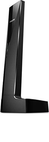 Philips Linea V M3501B - Teléfono inalámbrico diseño con Manos Libres, Bloqueo de Llamadas, Sonido Puro y Claro, Negro