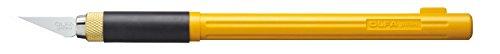 Cutter gráfico profesional 9mm |Made in JAPAN | Olfa 50449 | escalpelo premium con cuchilla más afilada | Edición especial Fabelhaft