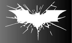 Aufkleber Batman Dark Knight Rises Vinyl Decal Sticker (Batman-laptop-aufkleber)