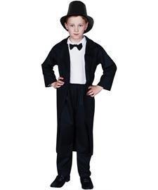 RG Costumes Abraham Lincoln, Child Medium/Size 8-10 by RG (Kinder Abraham Lincoln Kostüme)