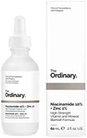 The Ordinary Niacinamide 10% + Zinc 1% 60ml - Reduce the appearance of skin blemishes and congestion