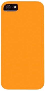 Aiino Rubber Schutzhülle Handyhülle Schale Spezialedition für Smartphone Apple iPhone 5/5S - Lemon Zest Orange