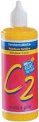 C.KREUL Window Color Hobby Line C2, 125 ml, bernstein 40107 Bernstein Glasmalerei