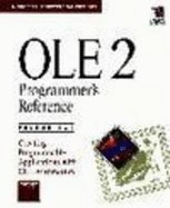 Preisvergleich Produktbild Ole 2 Programmer's Reference: Creating Programmable Applications With Ole Automation (Microsoft Professional Editions)