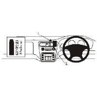 Brodit 652549 ProClip - Honda Accord 98-00/Accord Coupé 98-00