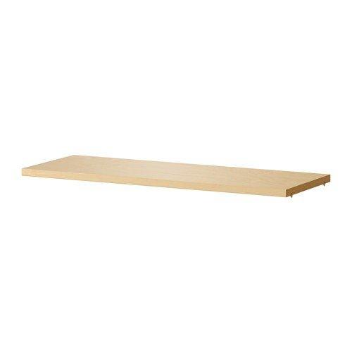 IKEA extra Regalboden für BILLY Regal in 3 Farben und 2 Größen (Birkenfurnier, 76  x 26 cm) Bücherregal Extra Regal