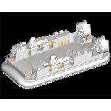 Maquette bateau: Barge de débarquement LCAC Marine japonaise 2000