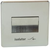 FAN ISOLATING SWITCH LOW PROFI 7017/SC By CRABTREE