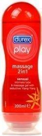 Lubricante 2 en 1 Masaje sensial Durex Play - 200ml