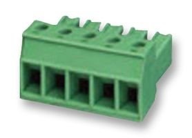TERMINAL BLOCK, PLUGGABLE, 4POS, 10AWG PC 4/ 4-ST-7,62 By PHOENIX CONTACT -