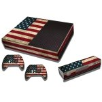 RISHIL WORLD US Flag Pattern Decal Stickers for Xbox One Game Console