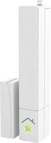 innogy SE SmartHome Tür- und Fenstersensor / Kontaktsensor, App-Verbindung, Tür- und Fenstercheck von unterwegs, einfache Klebemontage, spart Strom durch Heizungsabschaltung, 10267405