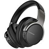 AUSDOM ANC8 Active Noise Cancelling Bluetooth Headphones, Wireless Over-Ear Headset with Super HiFi