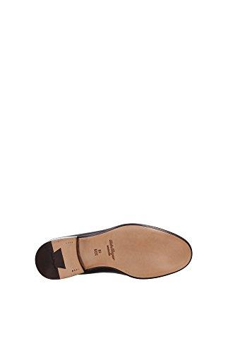 MASON0617508 Salvatore Ferragamo Loafers Herren Leder Schwarz Schwarz