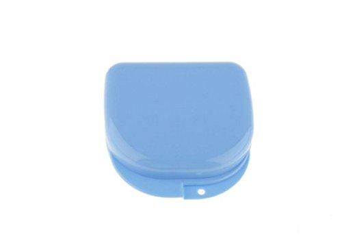 Blu-ray-Residenz Zahnspange Box, Air Box Zahnhalter Kieferorthopädische Deformität Aufbewahrungsbox Aufbewahrungsbox Prothese Oral Protector