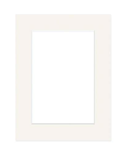 DEHA Passepartout, 59,4x84,1 cm (DIN A1), für Bilder im Format 42x59,4 cm (DIN A2), Elfenbein