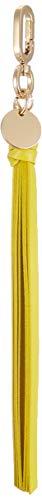 Liebeskind Berlin Damen Tukeyring Tuck Schlüsselanhänger, Gelb (Senf Yellow), 1.0x18.0x1.0 cm -