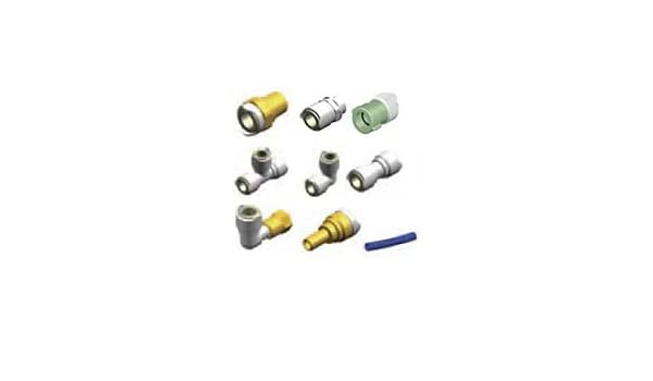 Whale Water Systems WX1513B ADAPTOR 1//2IN NPT MALE 15MM