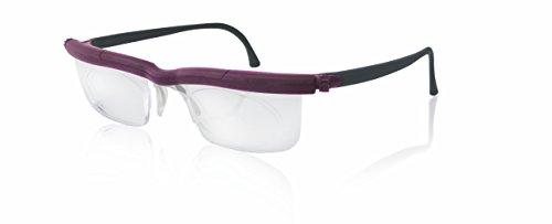 Adlens ViewPlus Brille Sehhilfe Lesebrille/schwarz lila/+2.75 Dioptrien