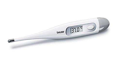 Beurer FT09 Termometro Digital y Corporal, Resistente al Agua, pantalla LCD con rango de medición +/...