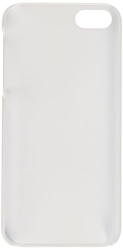 Apple iPhone SE / 5S / 5 | Blanc iCues liquide Design Cas | [Protecteur d'écran, y compris] protection de la peau Couvercle de protection Couvercle Coque Housse Sac Étui Case Cover Lames larges en chêne blanchi à la chaux