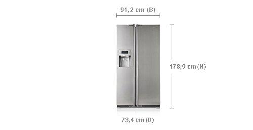 Samsung RSH5TERS nevera puerta lado a lado Independiente Plata 524 L A++...