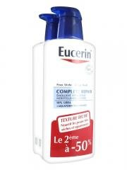 Eucerin Complete Repair Emollient Lotion 10% Urea 2 x 400ml