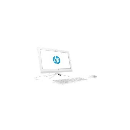 HP 20-c000ns - All in One - Ordenador de sobremesa 19.5' FullHD (AMD E2-7110 , 4GB RAM, 1TB HDD, AMD Radeon R2, Windows 10), Color Blanco, con Teclado QWERTY Español y Ratón USB
