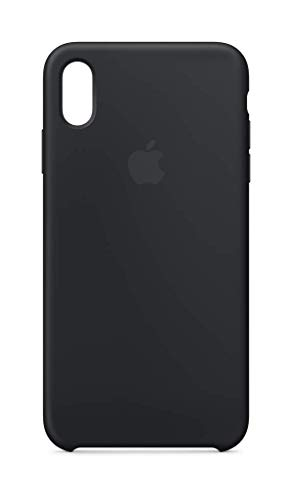 Apple Silikon Case (Iphone Xs Max) - Schwarz Schwarzes Apple Case