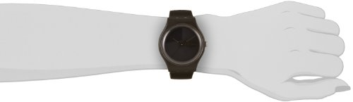 Swatch Unisex-Armbanduhr Black Rebel Analog Quarz Kautschuk SUOB702 -