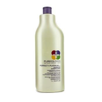 PUREOLOGY Perfect 4 Platinum Shampoo for colour treated hair 1000ml